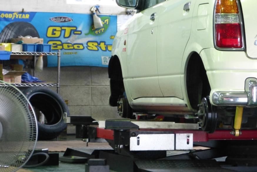 タイヤ持込交換