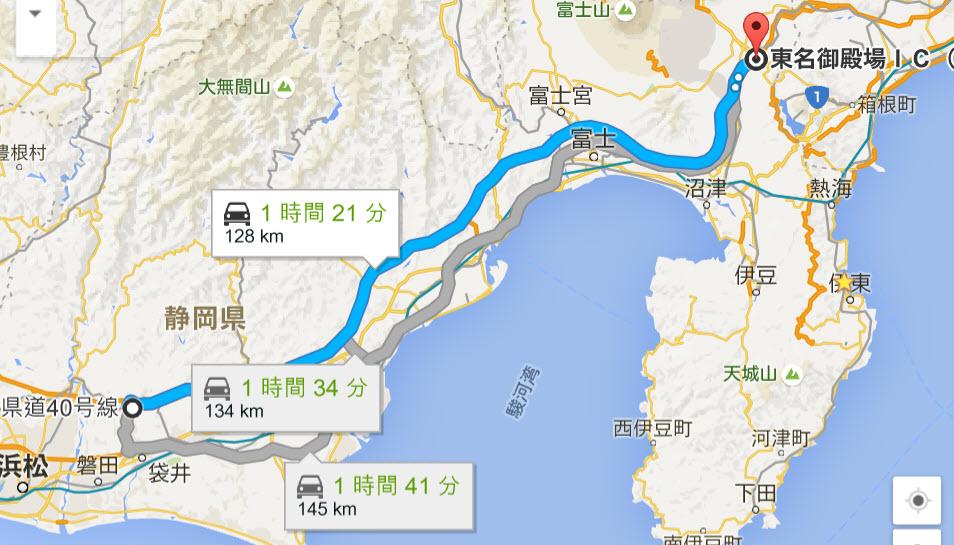 高速道路120km制限に思うこと区間見ると140kmでもよさそう