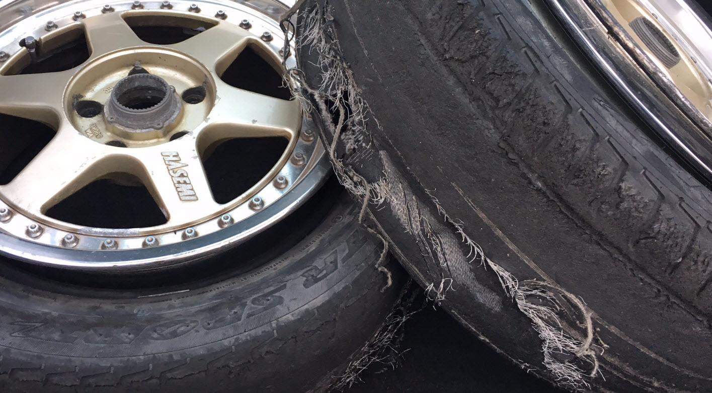 ドリケツ用タイヤを考える初めての円描きとパイロン走行ドリフト初心者の練習用タイヤ