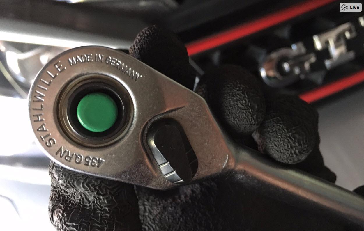 スタビレー3/8ラチェットハンドル435QRNを購入したMADE IN GERAMANY