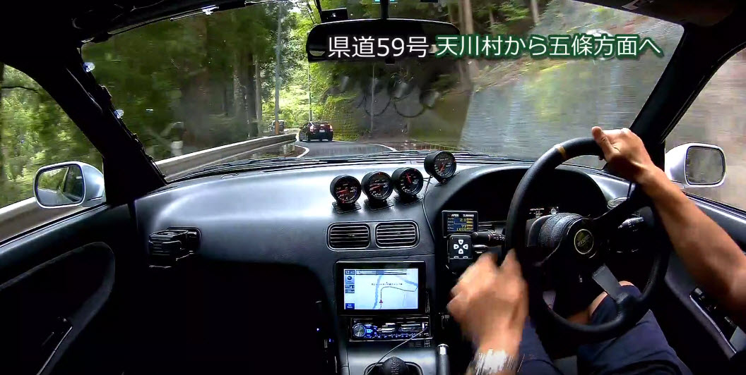MT車の運転車載動画~奈良県道53号天川村